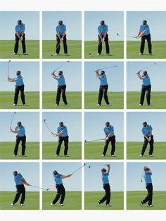 Tom Watson golf swing séquence