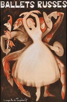 Ballets Russes by George POGEDAIEFF on artnet