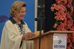 Dronning Sonja åpner Nor-Fishing 2014