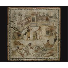 Egyptian, Classical, and Western Asiatic Antiquities, including Property of the Albright-Knox Art Gallery. View auction details, art exhibitions and o. Classical Antiquity, Classical Art, Ancient Romans, Ancient Art, Roman Drawings, Ancient Roman Houses, Roman Art, Mosaic Art, Egyptian
