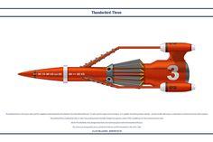 Science Fiction by WS-Clave on DeviantArt Thunderbird 1, Thunderbirds Are Go, Kids Tv, Batmobile, Classic Tv, Super Cars, Sci Fi, Vehicles, Toys