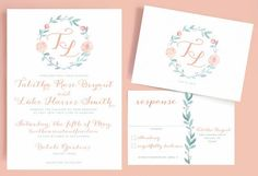 Invitation idea - by Leveret Paperie