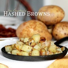 Ina Garten's Hashed Browns - not a direct link to her recipe but rather one someone posted on their blog.  LOVE these hash browns.  They're my absolute favorite.