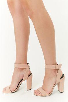29c50755482ded Qupid Crisscross Ankle-Strap Block Heels Ankle Strap Block Heel