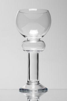 Borek Sipek Banata handblown wine glass - sold by Hans Krug Fine European Cabinetry