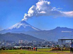 Quito and Cotopaxi and Pasochoa volcanoes, Ecuador Galapagos Islands, Volcanoes, Quito, Mount Rainier, Places To Go, Earth, Memories, Country, Nature