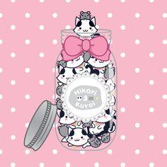 A set of cuties! (* ♡ ∀ ♡) – Uma coleção de fofuras! (* ♡ ∀ ♡)