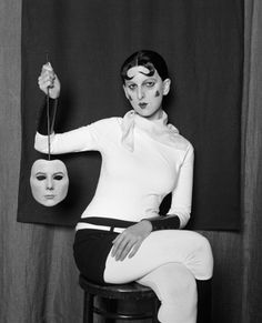 Claude Cahun by Claude Cahun - by Gillian Wearing.