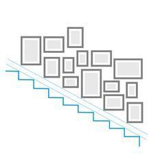 Hängung im Treppenhaus Tipps & Tricks Ideen für Bilderwände