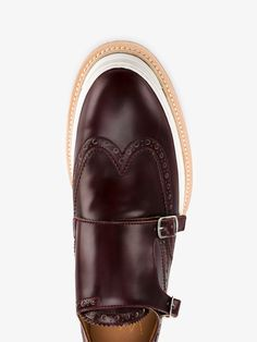 WEBERHODELFEDER Herald Double Monkstrap Leather Shoes
