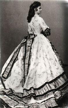 Empress Elisabeth, Ludwig Angerer, 1863
