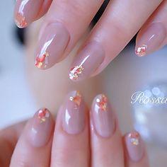 Gel Nail Designs, Cute Nail Designs, Super Cute Nails, Pretty Nails, Classy Nails, Simple Nails, Bridal Nails, Wedding Nails, Mettalic Nails