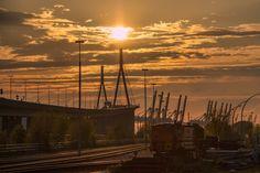 Hamburg - PEACEFUL by Sabine Wagner on 500px , Köhlbrand