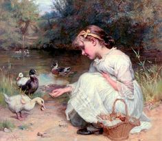 Alenquerensis: Pintores Victorianos - Frederick Morgan Victorian Painters - Frederick Morgan and Arthur John Elsley