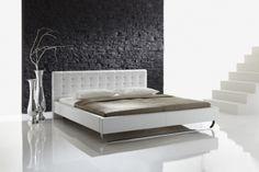 Polsterbett Uta #weiß #Möbel #Polsterbett #Bett #Schlafzimmer