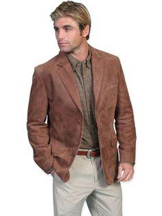 Galena+Leather+Blazer