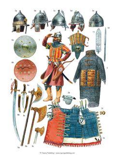 Peter Dennis - Armas y equipo de askari mameluco, c 1500.