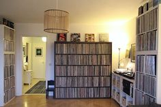 Nice record collection and set up - of circa 7,000 records