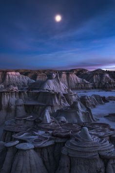 Realm of Solitude, Sun Juan Badlands, New Mexico,