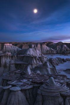 Realm of Solitude, Sun Juan Badlands, New Mexico,