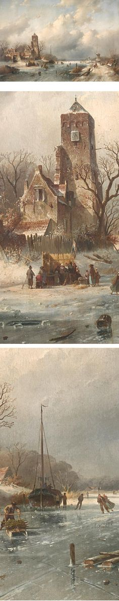 'Winter View' by Charles Leickert