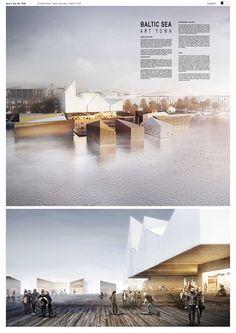 Competition 1st Award - Baltic Sea Art Town- Estonia on Behance