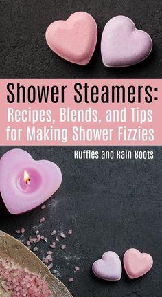 Bath Boms Diy, Galaxy Bath Bombs, Bombe Recipe, Shower Bombs, Steamer Recipes, Shower Steamers, Diy Shower, Bath Shower, Shower Ideas