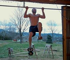 The art of manliness - how to do more than one stinky pull-up... I am a woman, but still want to rock the pull-ups.