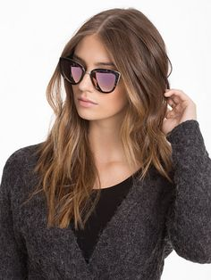My Girl - Quay Australia - Black/Brown - Sonnenbrillen - Accessoires - Damen - Nelly.de Mode Online