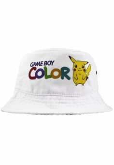 Game Boy Color Pikachu Bucket Hat 0ea9733d3ce2