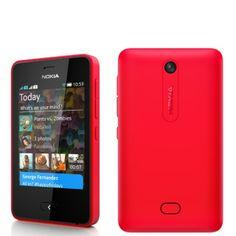 Nokia Asha 501 libre color rojo