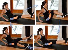 Exercitii pentru slabit burta si solduri, full body crunch Yoga Fitness, Fitness Fashion, Fitness Inspiration, Pilates, Sports, Women, Pop Pilates, Hs Sports, Sport