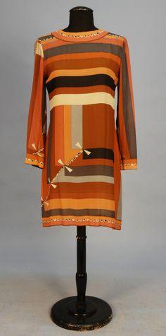 Dress, Emilio Pucci, 1960s, Whitaker Auctions ...