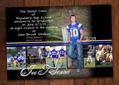 The Braxton Graduation Announcement by CandCpaperie on Etsy 1500