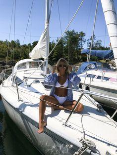 Bikini addict Archives - Page 6 of 34 - Matilda Djerf Beach Aesthetic, Summer Aesthetic, Summer Feeling, Summer Vibes, Instagram Feed, Boat Pics, Surf, Summer Dream, Beach Babe