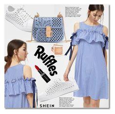 Ruffles by svijetlana on Polyvore featuring moda, Smashbox, ruffles and shein