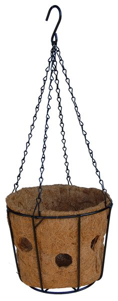 Bloom Big Super Hanging Basket with Chain Hanger - Hanging Baskets, Hanger, Bloom, Chain, Big, Gardening, Fall Hanging Baskets, Clothes Hanger, Clothes Hangers