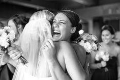 bride and bridesmaids candid wedding photos   Kansas City wedding photographer   www.anthem-photo.com