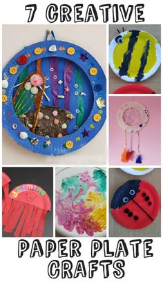 7 creative paper plate crafts for kids