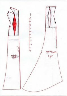 Gown pattern for Barbie