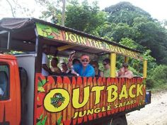 Outback Safari, Puerto Plata, Dominican Republic -- tour vehicle
