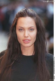 Angelina Jolie à Londres en juillet 2000.