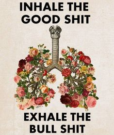 Breathe in and exhale…