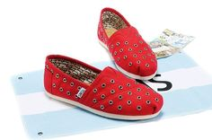 New Arrival Toms Color matching Women Shoes Blue