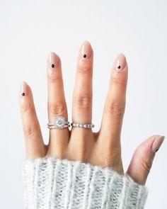 Naked by Debora Lippman nail polish look