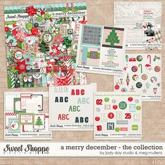 A Merry December-Collection by Jady Day Studio and Meghan Mullens