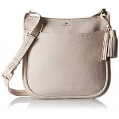kate spade new york Orchard Street Hemsley Cross Body Bag, Crisp Linen, One Size