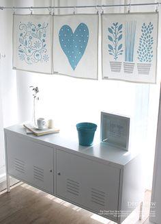 [바보사랑] 하늘하늘~ 로맨틱 주방 만들기! /커튼/커텐/가리개 커튼/데코뷰엔/발란스/주방/키친/인테리어/패브릭/Curtain/Kitchen/Interior/Fabric/Decobyuen