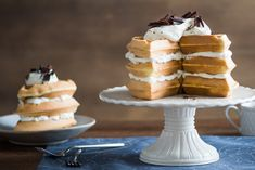Wafflemisu Cake Recipe
