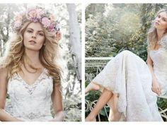 Entzückende Brautkleider für eine Gartenhochzeit 2015